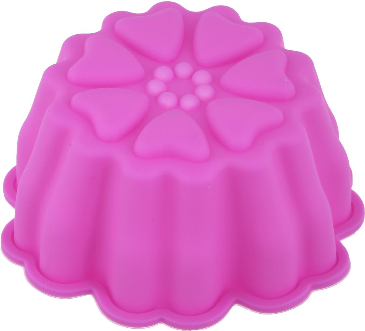 Форма для выпечки Доляна Семицветик, цвет: розовый, 9,5 х 4,5 см861068_розовыйФорма для выпечки из силикона - современное решение для практичных и радушных хозяек. Оригинальный предмет позволяет готовить в духовке любимые блюда из мяса, рыбы, птицы и овощей, а также вкуснейшую выпечку.Преимущества формы для выпечки: - блюдо сохраняет нужную форму и легко отделяется от стенок после приготовления; - высокая термостойкость (от -40 до 230°C) позволяет применять форму в духовых шкафах и морозильных камерах; - небольшая масса делает эксплуатацию предмета простой даже для хрупкой женщины; - силикон пригоден для посудомоечных машин; - высокопрочный материал делает форму долговечным инструментом; - при хранении предмет занимает мало места.