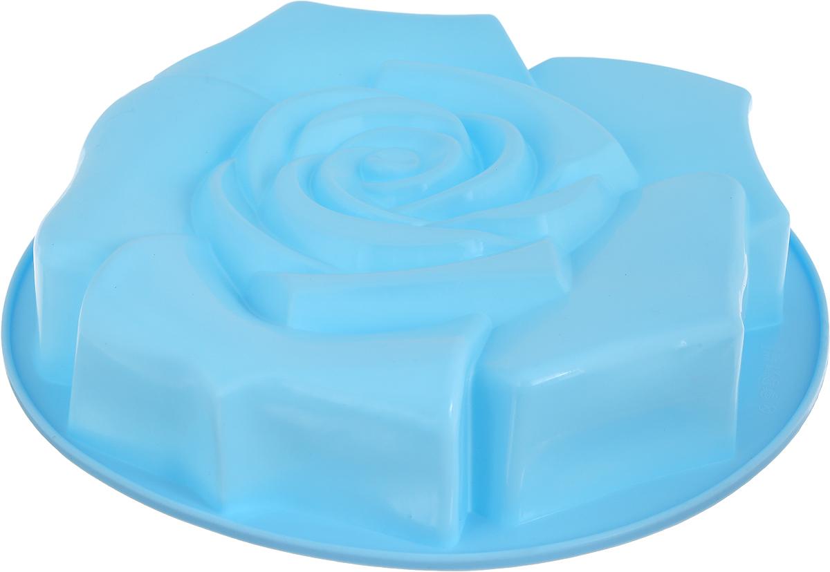 Форма для выпечки Доляна Роза ветров, цвет: светло-голубой, 30 х 5,5 см762799_светло-голубойФорма для выпечки из силикона - современное решение для практичных и радушных хозяек.Оригинальный предмет позволяет готовить в духовке любимые блюда из мяса, рыбы, птицы иовощей, а также вкуснейшую выпечку. Преимущества формы для выпечки:- блюдо сохраняет нужную форму и легко отделяется от стенок после приготовления;- высокая термостойкость (от -40 до 230°C) позволяет применять форму в духовых шкафах иморозильных камерах;- небольшая масса делает эксплуатацию предмета простой даже для хрупкой женщины;- силикон пригоден для посудомоечных машин;- высокопрочный материал делает форму долговечным инструментом;
