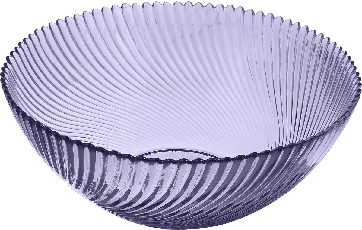 """Салатник NiNaGlass """"Альтера"""" выполнен из высококачественного стекла. Он подойдет для сервировки стола как для повседневных, так и для торжественных случаев.Такой салатник прекрасно впишется в интерьер вашей кухни и станет достойным дополнением к кухонному инвентарю. Подчеркнет прекрасный вкус хозяйки и станет отличным подарком. Не рекомендуется использовать в микроволновой печи и мыть в посудомоечной машине."""