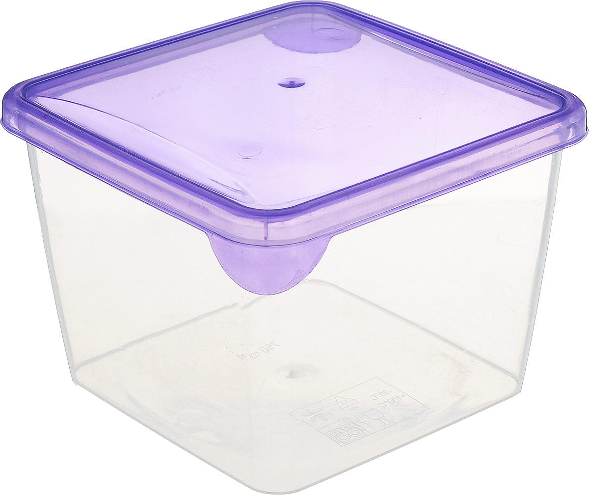 Емкость для продуктов Giaretti Браво, цвет: фиолетовый, 750 млGR1031_фиолетовыйЕмкость для продуктов Giaretti Браво изготовлена из пищевого полипропилена. Крышкаплотно закрывается, дольше сохраняя продукты свежими. Боковые стенки прозрачные, чтопозволяет видеть содержимое.Емкость идеально подходит для хранения пищи, фруктов,ягод, овощей.Такая емкость пригодится в любом хозяйстве.