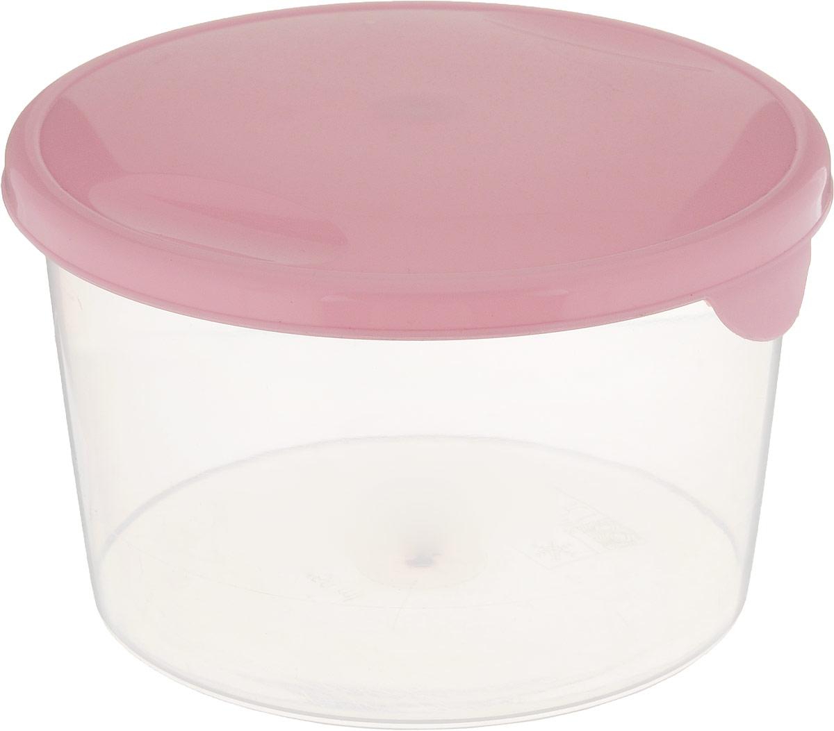 Емкость для продуктов Giaretti Браво, цвет: розовый, прозрачный, 750 мл. GR1034GR1033_розовыйЕмкость для продуктов Giaretti Браво изготовлена из пищевого полипропилена. Крышкаплотно закрывается, дольше сохраняя продукты свежими. Боковые стенки прозрачные, чтопозволяет видеть содержимое.Емкость идеально подходит для хранения пищи, фруктов,ягод, овощей.Такая емкость пригодится в любом хозяйстве.