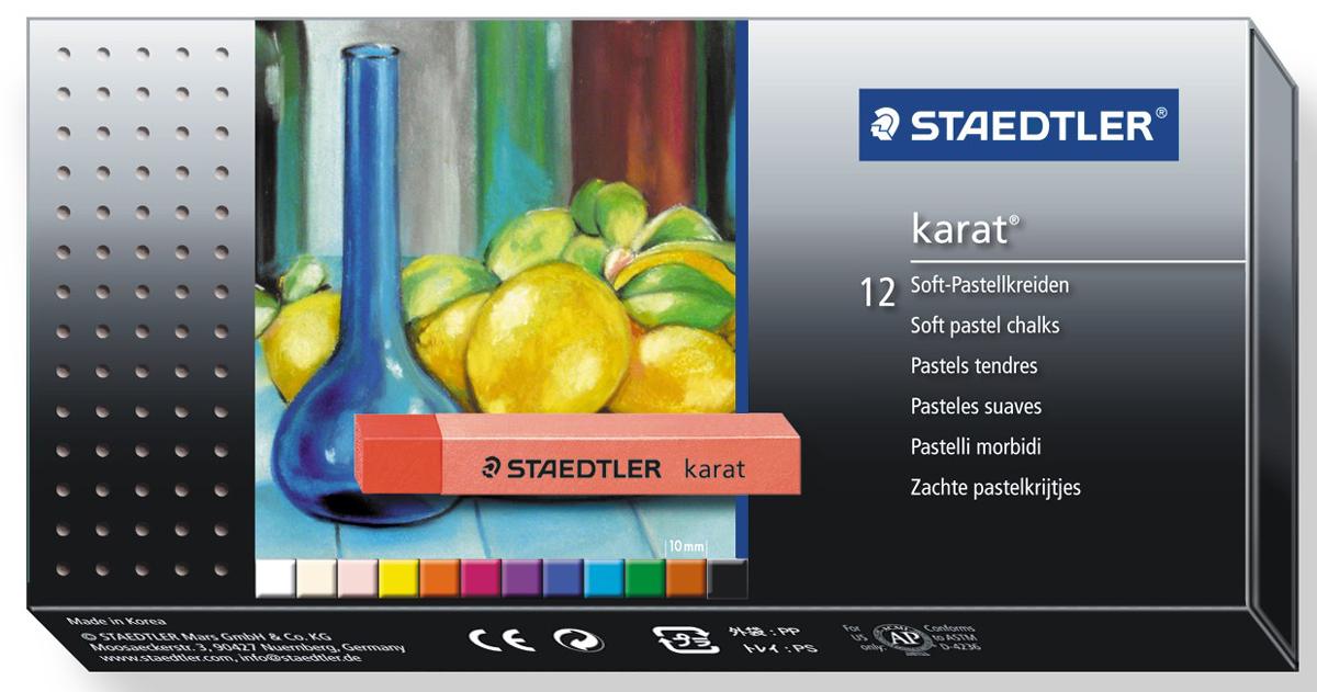 Staedtler Мелки пастельные мягкие Karat 12 цветов -  Мелки и пастель