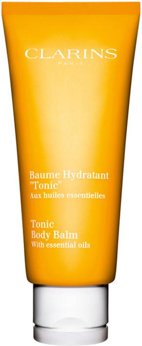 Clarins Увлажняющий бальзам для тела Baume Hydratant Tonic, 200 мл clarins baume corps super hydratant увлажняющий бальзам для тела baume corps super hydratant увлажняющий бальзам для тела