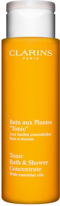 Clarins Тонизирующая пена для принятия ванн и душа Tonic, 200 мл mustela пена для ванны mustela bebe 8700794 200 мл
