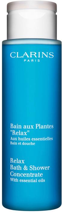 Clarins Расслабляющая пена для принятия ванн и душа Relax, 200 мл mustela пена для ванны mustela bebe 8700794 200 мл