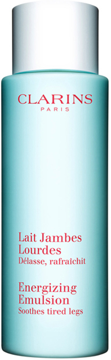 Clarins Молочко для усталых ног Lait Jambes Lourdes, 125 мл00691100Молочко на основе натуральных растительных экстрактов и эфирных масел избавляет от ощущения тяжести и усталости в ногах, снимает напряжение, дарит ощущение свежести, легкости и комфорта. Кроме того, оно позволяет поддерживать оптимальный уровень увлажнения кожи, делая ее гладкой, нежной и упругой. Благодаря очень легкой текстуре молочко можно наносить в любое время дня даже поверх чулок или тонких колготок.