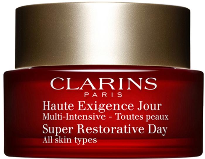 Clarins Восстанавливающий дневной крем интенсивного действия для любого типа кожи Multi-Intensive, 50 мл01094100Высокоэффективное омолаживающее средство ухода, отвечающее всем потребностям зрелой кожи. Формула, обогащенная эксклюзивным органическим экстрактом харунганы мадагаскарской, день за днем способствует восстановлению плотности всех слоев кожи*, повышает ее упругость, сокращает морщины, обеспечивает эффект лифтинга. Питает и увлажняет кожу в течение дня. Оказывает моментальное разглаживающее действие, выравнивает тон кожи, придает ему здоровое сияние и свежесть. *Лабораторные исследования in vivo и ex vivo.