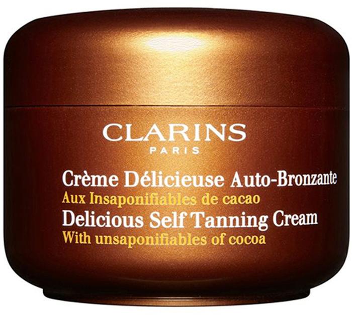 Clarins Крем для искусственного загара Creme Delicieuse Auto-Bronzante, 150 мл clarins концентрат с эффектом искусственного загара 15 мл