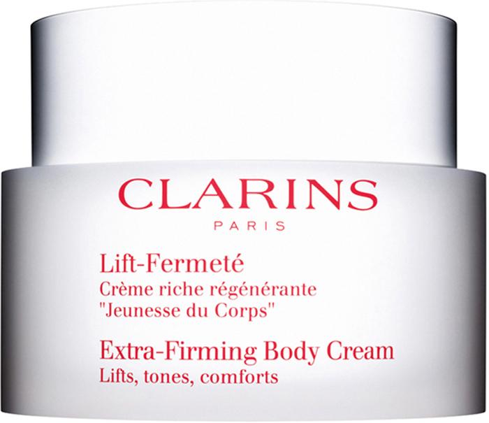 Clarins Регенерирующий и укрепляющий крем для тела с насыщенной текстурой Lift-Fermete, 200 мл clarins clarins отшелушивающий крем для тела с порошком бамбука peau neuve 200 мл