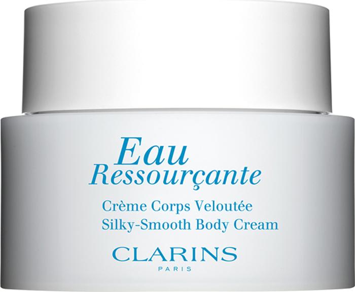 Clarins Крем для тела Eau Ressourcante, 200 мл clarins eau des jardins крем для тела eau des jardins крем для тела