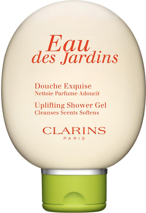 Clarins Гель для душа Eau Des Jardins, 150 мл clarins eau des jardins крем для тела eau des jardins крем для тела