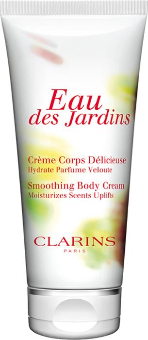 Clarins Крем для тела Eau Des Jardins, 200 мл clarins eau des jardins крем для тела eau des jardins крем для тела