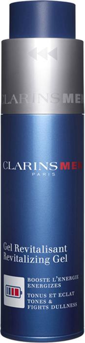 Clarins Восстанавливающий гель, улучшающий цвет лица Men Gel Revitalisant 50 мл clarins смягчающий и отшелушивающий лосьон улучшающий цвет лица doux exfoliant 125 мл