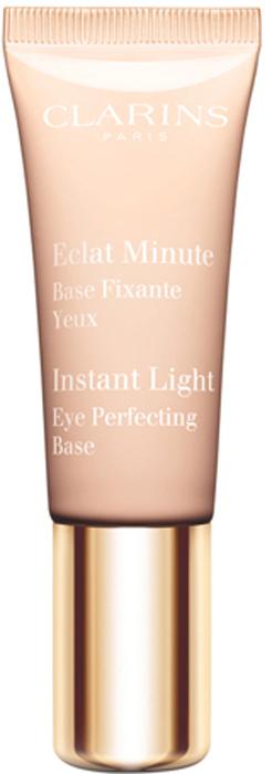 Clarins Выравнивающая основа для век Eclat Minute, 10 мл04203310Универсальная база для макияжа глаз с очень нежной комфортной текстурой. Разглаживает и защищает кожу век, придает взгляду сияние, повышает стойкость теней. Средство можно использовать как в качестве основы для макияжа глаз, так и самостоятельно для придания взгляду естественного сияния