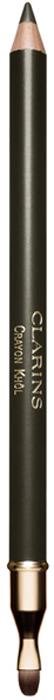 Clarins Карандаш для глаз с кистью Crayon Khol 04, 1,05г04223610Незаменимое средство для создания выразительного макияжа глаз. Карандаш можно использовать в качестве подводки для создания стрелок или растушевать по всему веку как тени с помощью кисти, расположенной с обратной стороны. А благодаря мягкой формуле его также можно наносить на слизистую оболочку глаз как классический кайал. Создавайте разные образы, в зависимости от случая и настроения.