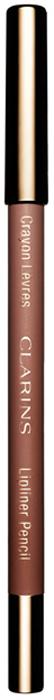 Clarins Карандаш для губ Crayon Levres 01 1,2 г04422510Clarins совершает революцию в макияже, предлагая подбирать карандаш для губ в соответствии с их естественным цветом, а не с цветом помады. Формула нового карандаша Crayon Levres, обогащенная маслом жожоба, обеспечивает легкое комфортное нанесение и четкость контура, который не позволяет помаде растекаться и стойко держится в течение всего дня. А натуральные оттенки подойдут к любому цвету губной помады.
