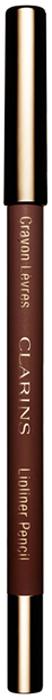 Clarins Карандаш для губ Crayon Levres 04 1,2 г clarins clarins карандаш для глаз с кистью crayon khol 04 platinum 1 05 г