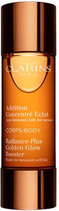 Clarins Концентрат с эффектом искусственного загара для тела Addition Concentre Eclat Corps, 30 мл средства для загара