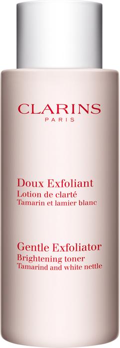 Clarins Смягчающий и отшелушивающий лосьон, улучшающий цвет лица Doux Exfoliant, 125 мл clarins смягчающий тонизирующий лосьон с алоэ вера 200 мл