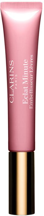 Clarins Блеск для губ Eclat Minute 07, 12мл80002989Блеск с нежной кремовой текстурой и приятным ароматом подчеркивает естественную красоту губ и одновременно ухаживает за ними. Формула на основе растительных компонентов увлажняет и восстанавливает кожу губ, разглаживает и защищает ее, дарит ощущение комфорта. Пигменты Сияние 3D придают губам нежное сияние и визуально увеличивают их объем. Благодаря полупрозрачному покрытию блеск можно использовать как самостоятельно, так и поверх губной помады.
