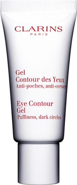 Clarins Гель для ухода за кожей вокруг глаз Gel Contour Des Yeux, 20 мл80006227Этот гель с очень легкой освежающей нежирной текстурой способствует заметному сокращению темных кругов и отеков под глазами, возвращая взгляду сияющий отдохнувший вид. Формула на основе растительных экстрактов, стимулирующих микроциркуляцию, и кофеина, оказывающего дренирующее действие, моментально дарит ощущение свежести и подходит даже для самой чувствительной кожи.