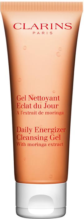 Clarins Гель, придающий сияние коже Eclat Du Jour, 30 мл80006472Гель с освежающей тающей текстурой оказывает тонизирующее действие, матирует кожу и дарит ей оптимальное увлажнение в течение всего дня. Не оставляет на коже жирной пленки, поэтому может служить прекрасной базой под макияж.