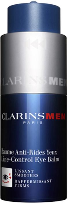 Clarins Бальзам против морщин для кожи вокруг глаз Men Baume Anti-Rides Yeux, 20 мл clarins clarins восстанавливающий бальзам baume beaute eclair 50 мл