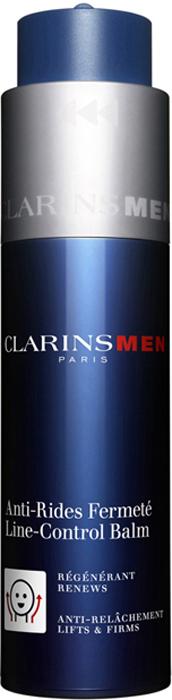 Clarins Восстанавливающий и укрепляющий бальзам против морщин для любого типа кожи Men Anti-Rides Fermete, 50 мл clarins clarins восстанавливающий бальзам baume beaute eclair 50 мл