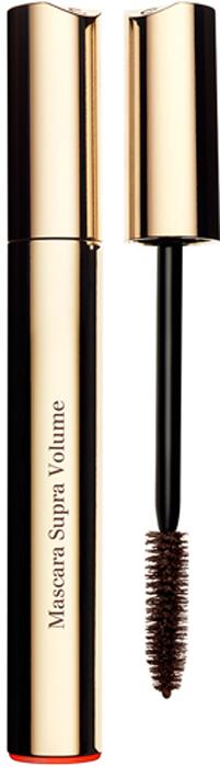 Clarins Тушь, увеличивающая объем ресниц Mascara Supra Volume 02, 8 мл80011632Тушь, оказывающая двойное действие для увеличения объема ресниц моментально и день за днем. Воск цветков кассии дарит ресницам моментальный объем и насыщенный цвет. А комплекс Booster de Volume стимулирует естественное увеличение объема ресниц по мере использования туши: +17, 6%* естественного объема ресниц после 4-х недель использования. *Лабораторные исследования при участии 30 женщин в течение 4-х недель.