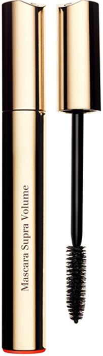 Clarins Тушь, увеличивающая объем ресниц Mascara Supra Volume 01, 8 мл80011669Тушь, оказывающая двойное действие для увеличения объема ресниц моментально и день за днем. Воск цветков кассии дарит ресницам моментальный объем и насыщенный цвет. А комплекс Booster de Volume стимулирует естественное увеличение объема ресниц по мере использования туши: +17, 6%* естественного объема ресниц после 4-х недель использования. *Лабораторные исследования при участии 30 женщин в течение 4-х недель.
