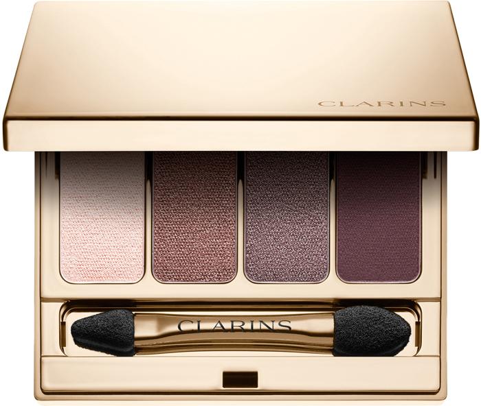 Clarins Четырехцветные тени для век Palette 4 Couleurs 02, 6,9 г dior тени для век 5 couleurs 277 defy 7 г
