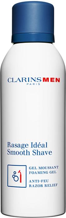 Clarins Пенящийся гель для бритья Men Rasage Ideal, 150 мл80012434Не содержащий спирта гель, превращающийся в густую пену, приподнимает и смягчает щетину, обеспечивая легкое скольжения лезвия и гарантируя быстрое безопасное бритье. Экстракт гринделии успокаивает кожу, предупреждает появление раздражения и жжения после бритья. Экстракты зубровки, галанги и портулака тонизируют кожу и наполняют ее энергией.