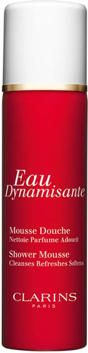 Clarins Смягчающая очищающая пена для душа Eau Dynamisante, 150 мл eau dynamisante гель для душа