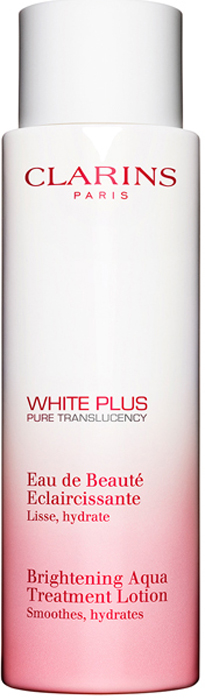Clarins Смягчающий лосьон, осветляющийтон кожи White Plus, 200 мл clarins смягчающий тонизирующий лосьон с алоэ вера 200 мл