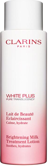 Clarins Смягчающее молочко, осветляющее тон кожи White Plus, 200 мл80018433Это молочко с комфортной текстурой оказывает смягчающее действие, подготавливая кожу к дальнейшим этапам ухода. Выравнивает и осветляет тон кожи, делает ее нежной и бархатистой.