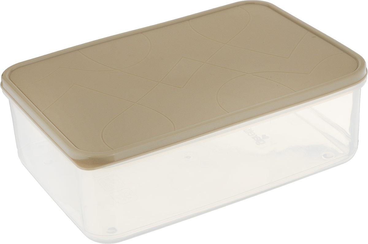 Контейнер для продуктов Giaretti Vitamino, прямоугольный, цвет: прозрачный, бежевый, 2,5 лGR1852_бежевыйПоложить в холодильник остатки еды, взять с собой обед в дорогу, заморозить овощи на зиму - все это можно сделать с контейнером Vitamino. Контейнер можно использовать для заморозки и хранения продуктов. Подходят для микроволновой печи. А благодаря плотной полиэтиленовой крышке еда дольше сохраняет свою свежесть.
