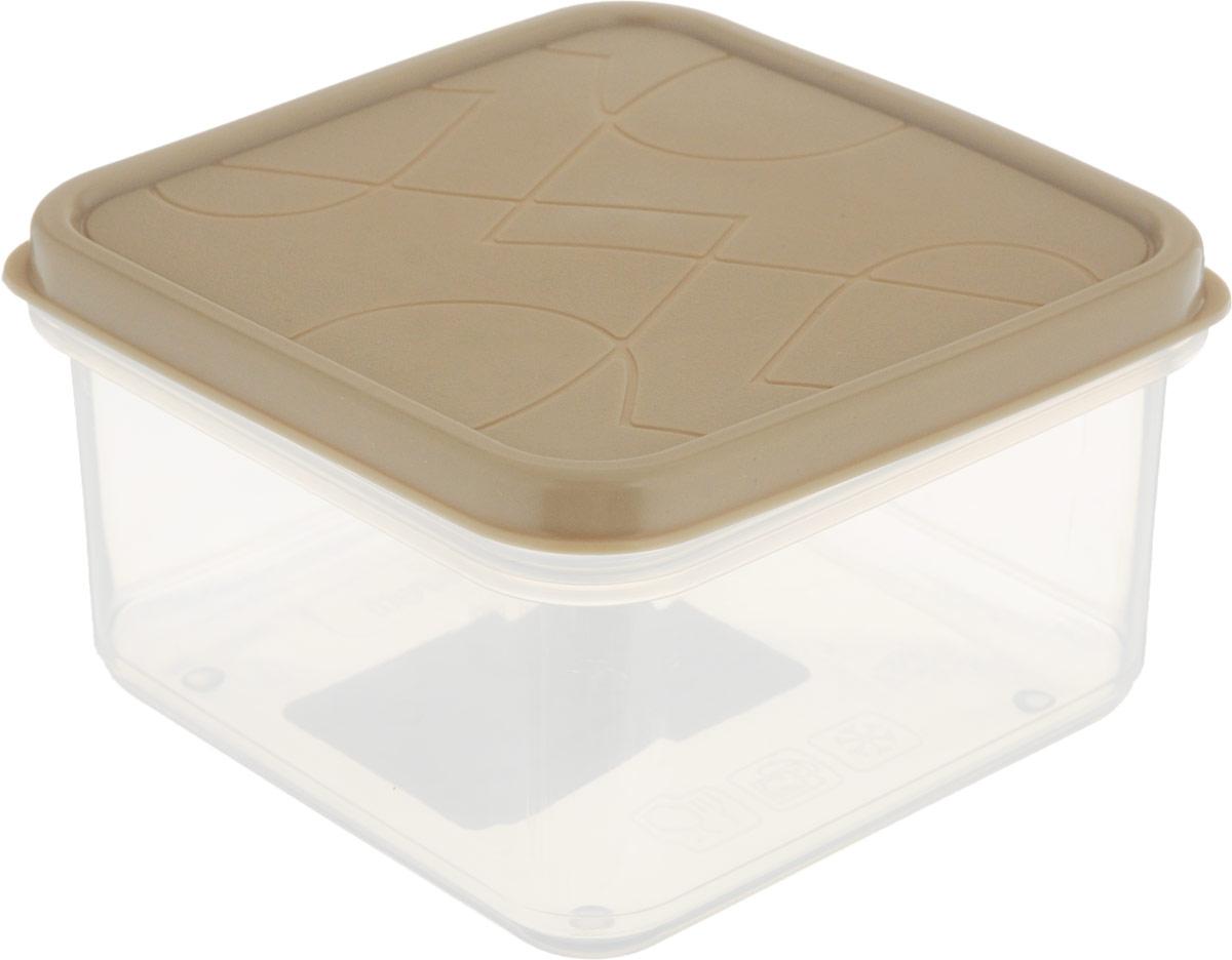 Контейнер для продуктов Giaretti Vitamino, квадратный, цвет: прозрачный, бежевый, 400 млGR1853_бежевыйПоложить в холодильник остатки еды, взять с собой обед в дорогу, заморозить овощи на зиму – все это можно сделать с контейнером Vitamino. Контейнер можно использовать для заморозки и хранения продуктов. Подходят для микроволновой печи. А благодаря плотной полиэтиленовой крышке еда дольше сохраняет свою свежесть.