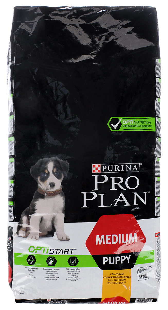 """Корм сухой Pro Plan """"Puppy Original"""" для щенков, курица с рисом, 12 кг"""