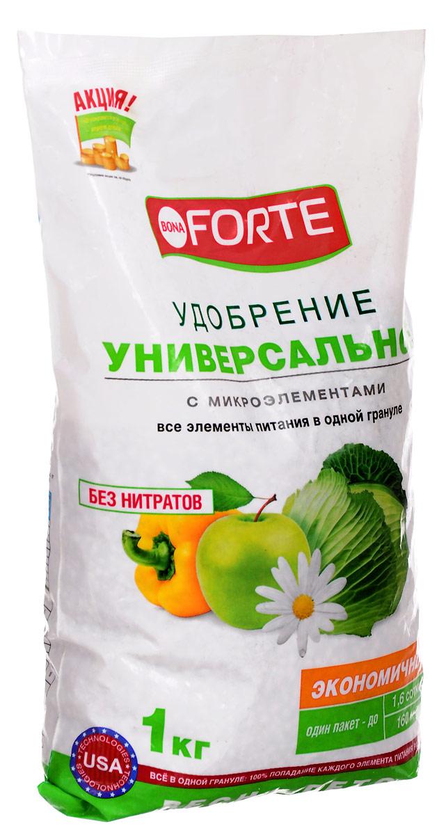 Удобрение комплексное гранулированное Bona Forte, универсальное марка NPK 15-15-15 с микроэлементами, 1 кгBF-23-01-012-1Удобрение содержит основные элементы питания в легкоусвояемой форме и сбалансированном соотношении, способствует хорошему росту растений и получению высокого урожая:Произведено по уникальной передовой технологии ALL IOG, обеспечивающей важные качественные преимущества перед традиционным смешением:Равномерное внесение - содержание всех компонентов в одной грануле обеспечивает 100 % попадание каждого элемента питания растению;Хорошая растворимость обеспечивает быстрый эффект при применении удобрения;Экономичное расходование.Уважаемые клиенты! Обращаем ваше внимание на изменения в дизайне товара. Поставка осуществляется в зависимости от наличия на складе.
