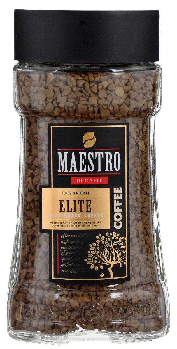 Maestro Di Caffe Elite кофе растворимый сублимированный, 95 г5060468280470Растворимый сублимированный кофе Maestro Di Caffe Elite сочетает нежный аромат элитной кенийской арабики с терпким вкусом робусты из Доминиканы.Нежная ароматная пенка позволяет в полной мере насладиться изысканным насыщенным вкусом. Уважаемые клиенты!Обращаем ваше внимание на изменения в дизайне товара. Поставка осуществляется в зависимости от наличия на складе. Кофе: мифы и факты. Статья OZON Гид