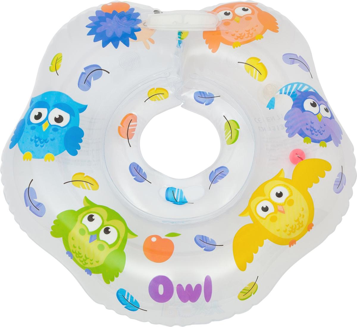 Roxy-kids Круг для купания Owl roxi kids fl002 круг на шею для купания малышей