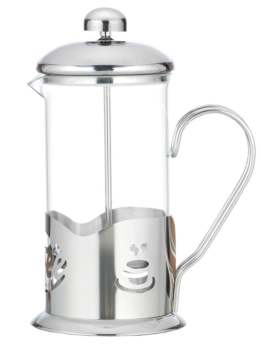 """Френч-пресс """"Irit"""", выполненный из стекла и нержавеющей стали,  практичный и простой в использовании. Засыпая чайную заварку под фильтр и заливая ее  горячей водой, вы получаете ароматный чай с оптимальной крепостью и насыщенностью.  Остановить процесс заварки чая легко. Для этого нужно просто опустить поршень, и заварка  уйдет вниз, оставляя вверху напиток, готовый к употреблению.  Современный дизайн полностью соответствует последним модным тенденциям в  создании предметов бытовой техники."""