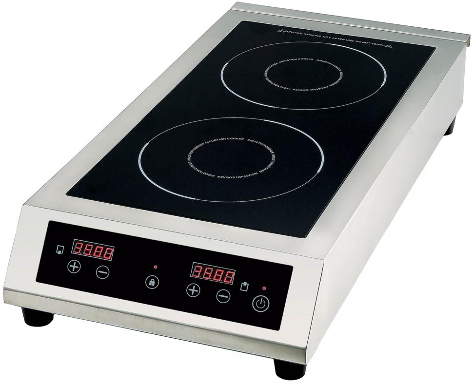 Gemlux GL-IP3535, Silver Black плитка электрическая - Плиты