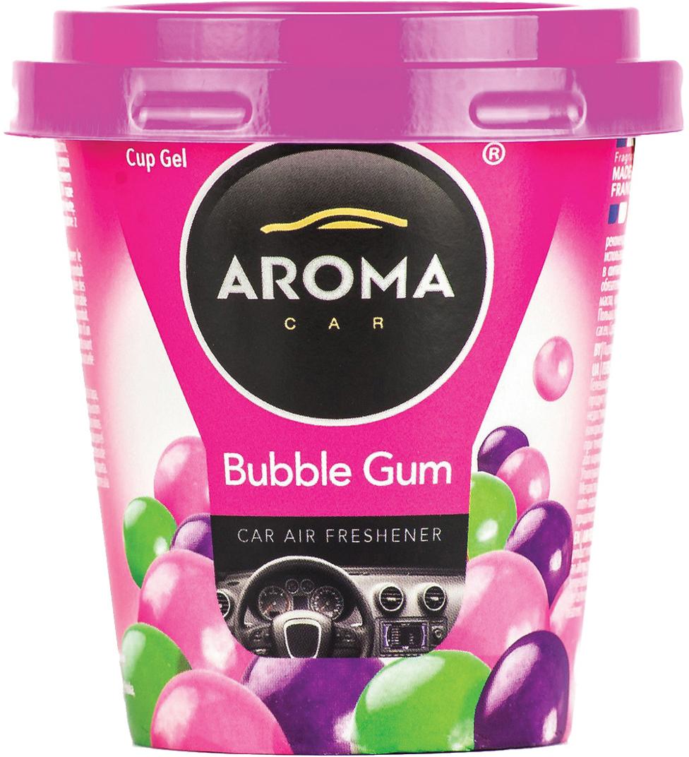 Ароматизатор автомобильный Aroma Car Cup Gel Bubble Gum, на приборную панель. AC9277892778Гелевый ароматизатор. Дизайн яркий, броский. Применим в любых помещениях и салонах автомобилей. Нейтрализует неприятные запахи и придает воздуху свежесть и аромат. Ароматическая основа с добавлением натуральных масел, французских отдушек.