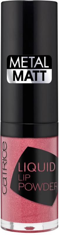 Catrice Жидкая губная помада Liquid Lip Powder,020чайнаяроза, 21 г225579Жидкая текстура, словно металлической пудрой покрывающая губы, обладает стойкой формулой и матовым финишем.