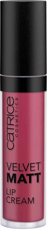 Catrice Губная помада Velvet Matt Lip Cream,070темно-розовый, 22 г225384Шелковисто-матовый финиш и плотное, стойкое покрытие, не подсушивающее нежную кожу губ, делают кремовую помаду CATRICE Velvet Matt Lip Cream одной из самых интересных новинок сезона. Помада легко наносится благодаря удобному мягкому аппликатору и представлена в четырех оттенках – от темно-лилового до фуксии и классического красного.