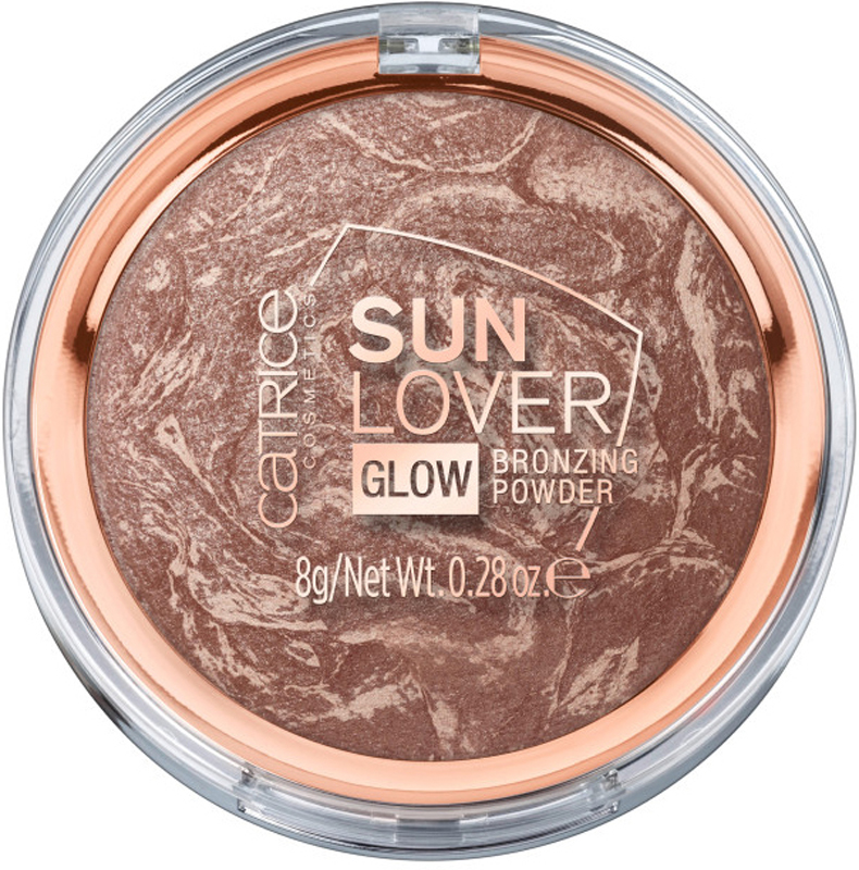 Catrice Компактная пудра с эффектом загара Sun Lover Glow Bronzing Powder, 010 Sun-Kissed Bronze, 60 г хайлайтер catrice dewy wetlook stick 010 цвет 010 splash n glow variant hex name f3e4e4