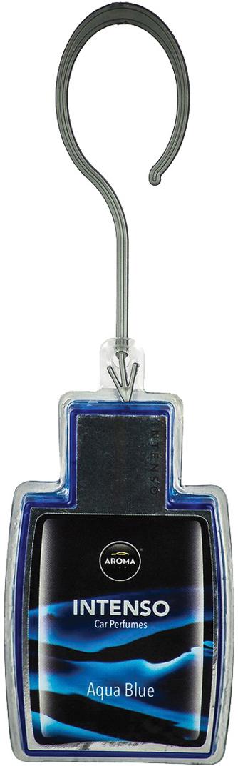 Ароматизатор автомобильный Aroma Car Intenso Perfume Aqua Blue, подвесной. AC9217192171Подвесной гелевый ароматизатор с ароматом французского парфюма.Гель на основе силиконовой технологии дает более интенсивный и долгоиграющий ароматю Использованы натуральные французские отдушки. Упаковка: картонный рукав с окном
