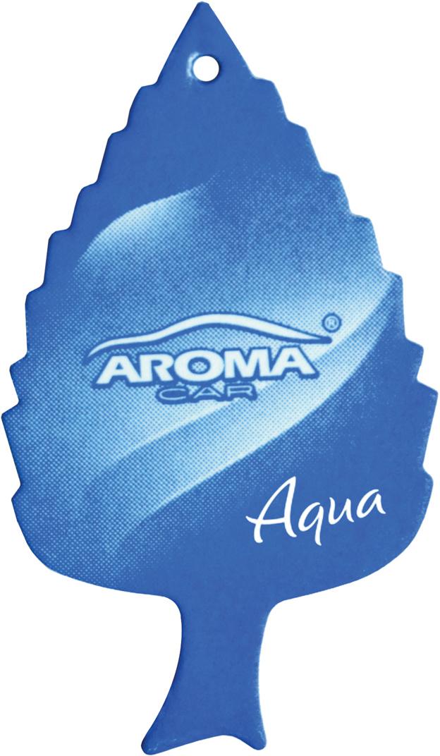 """Ароматизатор автомобильный Aroma Car """"Leaf Aqua"""", подвесной. AC92087"""