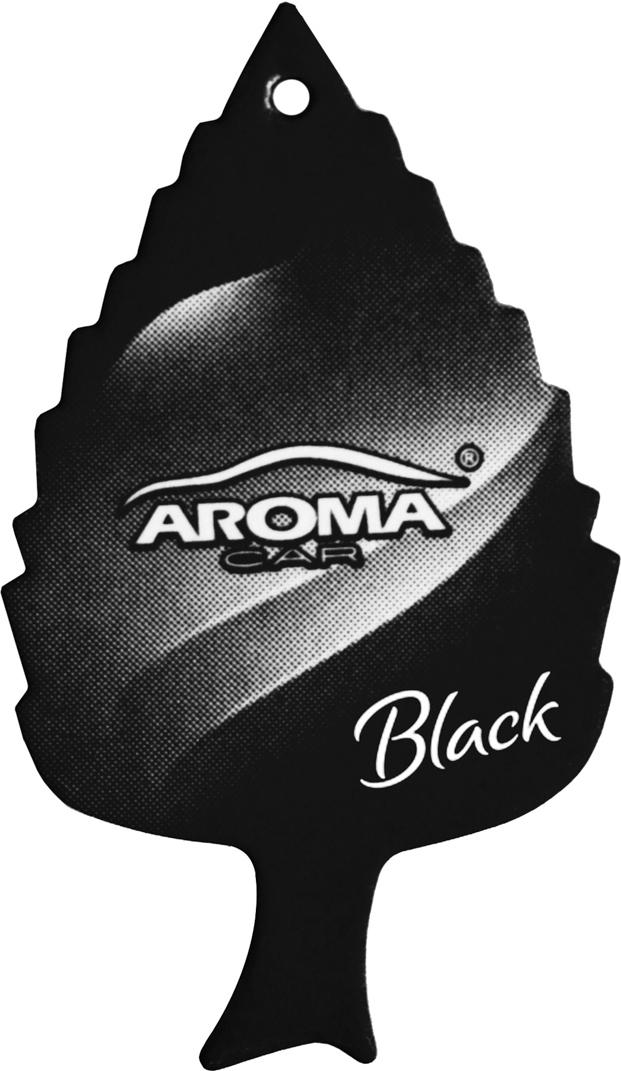 Ароматизатор автомобильный Aroma Car Leaf Black, подвесной. AC9208892088Классическая популярная форма листика - неизменный хит продаж, деликатный аромат идеально подойдет в салон любого автомобиляБумажный освежитель, содержащий специально подобранные хлопчатобумажные волокнаУпаковка: картонный топ+ПП пакет